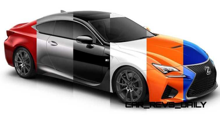 2015 Lexus RC F Colors and Wheels Visualizer 42_001-horz