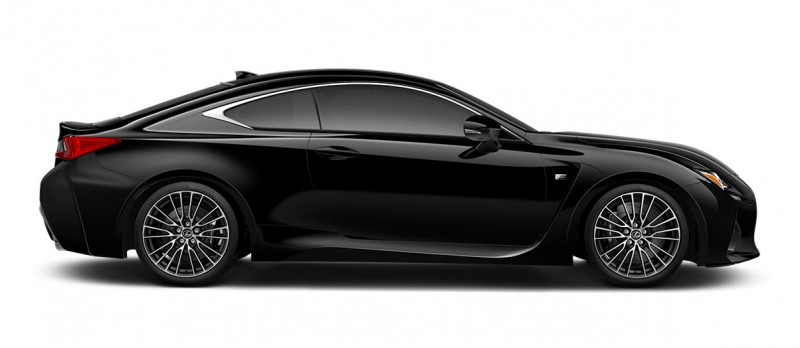 2015 Lexus RC F Colors and Wheels Visualizer 45