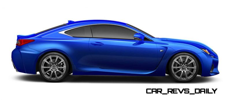 2015 Lexus RC F Colors and Wheels Visualizer 47