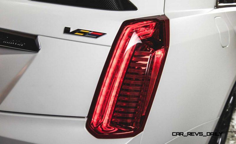 2016 Cadillac CTS-V Crystal White Tricoat 20