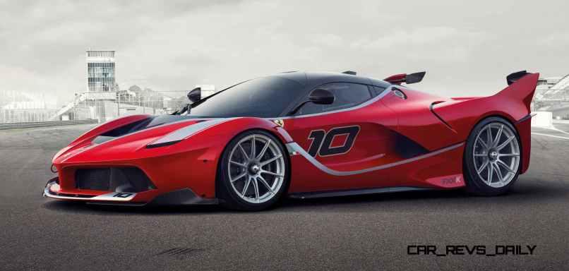 2016 Ferrari FXX K Revealed Ahead of Abu Dhabi Ferrari World Debut 3