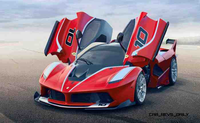 2016 Ferrari FXX K Revealed Ahead of Abu Dhabi Ferrari World Debut 4