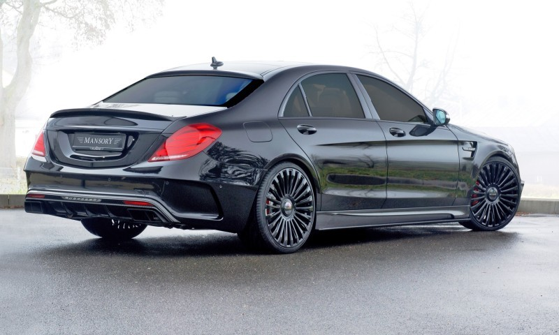 3.1s, 1000HP Mercedes-AMG S63 Is Latest MANSORY Monster 18