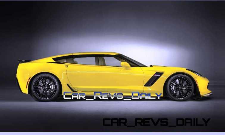 Chevrolet Corvette Z06 Sedan Draft Layers 7