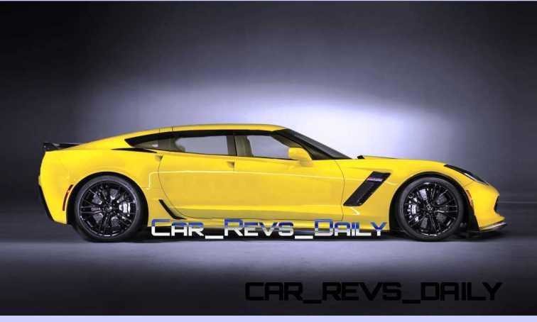 Chevrolet Corvette Z06 Sedan Draft Layers 8