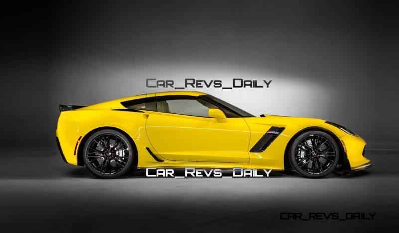 Future Supercar Renderings - 2017 Chevrolet Corvette Z06 Sedan 3