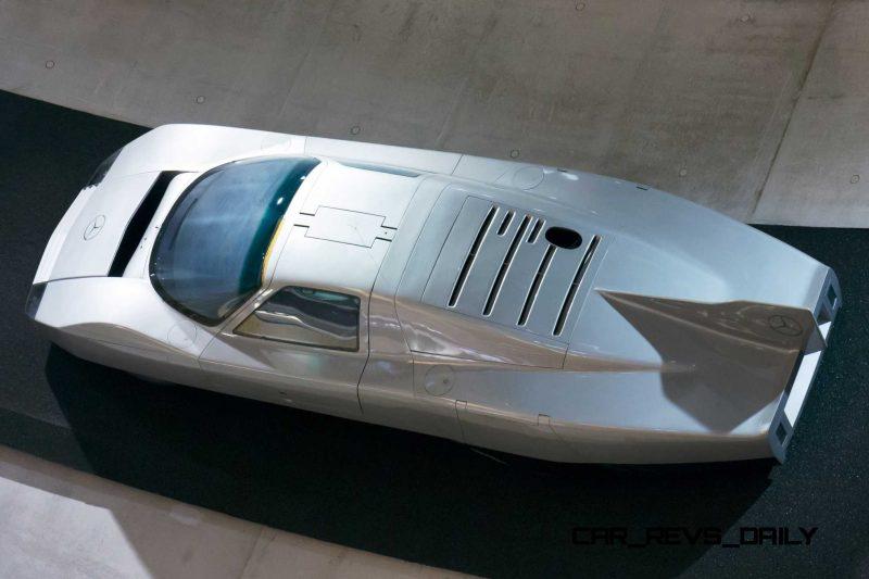 Mercedes C111-III2 Wing 8