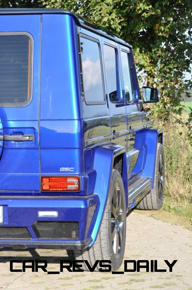 Mercedes G-Class Widebody by German Special Customs10