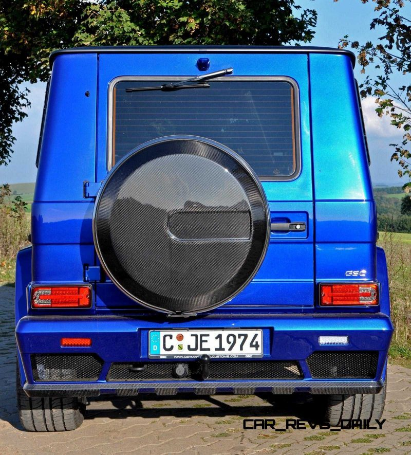 Mercedes G-Class Widebody by German Special Customs19