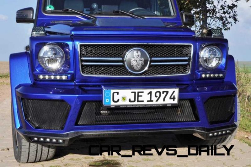 Mercedes G-Class Widebody by German Special Customs8