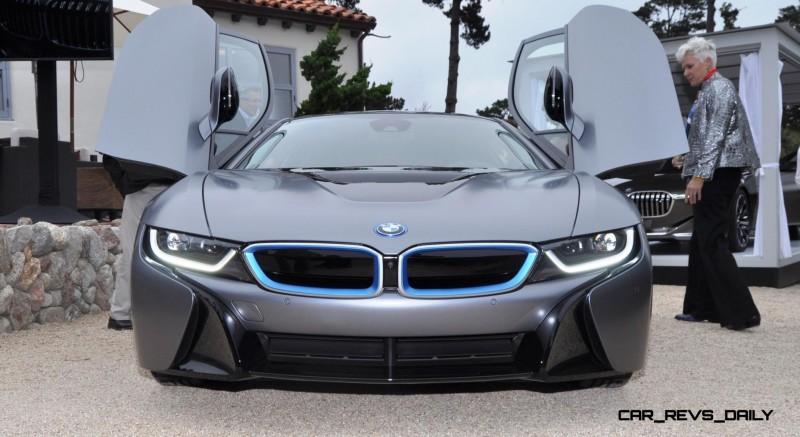 Spec Renderings - 2016 BMW i8 Spyder 1