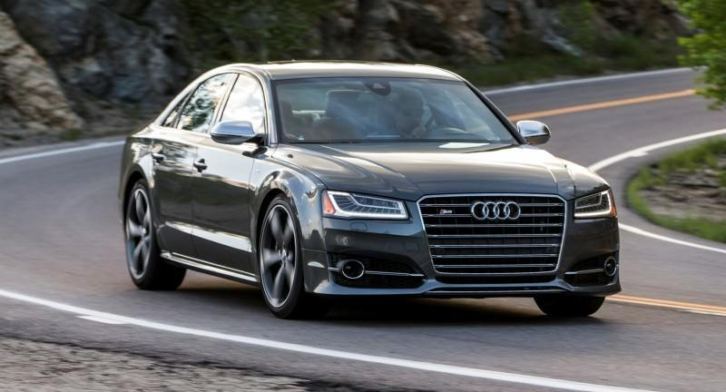 2015 Audi S8 with 520HP and 3.9s to 60MPH Is Quickest and Definitely The Coolest A8  13