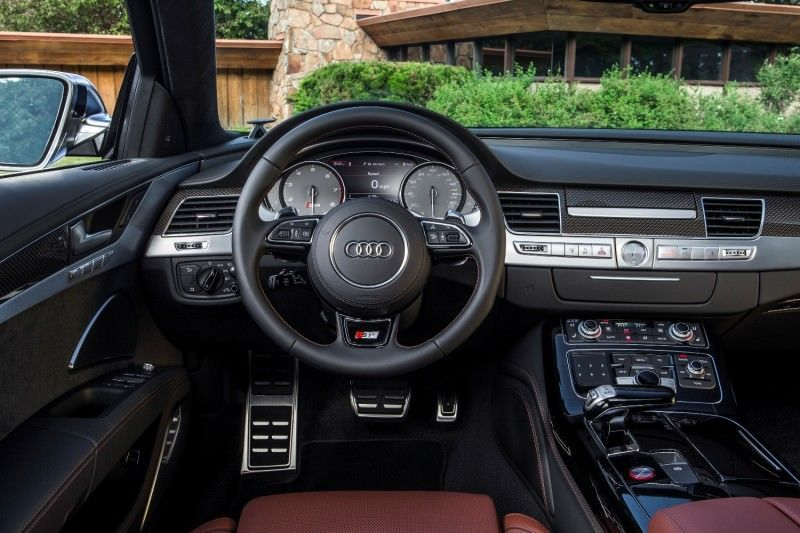 2015 Audi S8 with 520HP and 3.9s to 60MPH Is Quickest and Definitely The Coolest A8  23