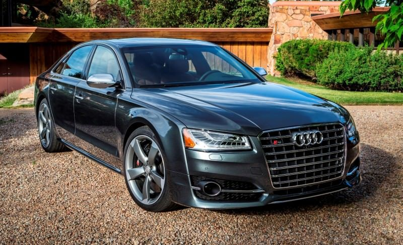 2015 Audi S8 with 520HP and 3.9s to 60MPH Is Quickest and Definitely The Coolest A8  24