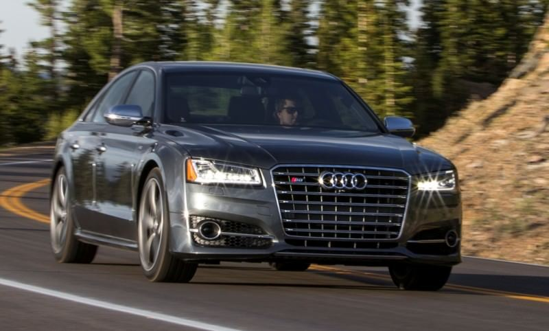 2015 Audi S8 with 520HP and 3.9s to 60MPH Is Quickest and Definitely The Coolest A8  3