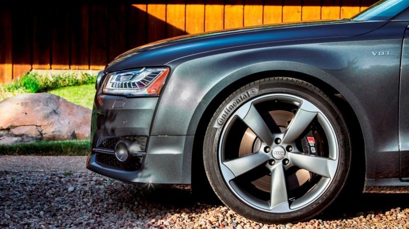 2015 Audi S8 with 520HP and 3.9s to 60MPH Is Quickest and Definitely The Coolest A8  32