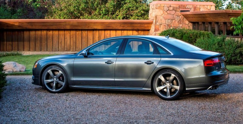 2015 Audi S8 with 520HP and 3.9s to 60MPH Is Quickest and Definitely The Coolest A8  46