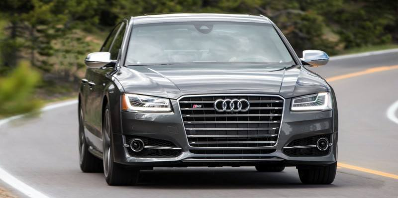 2015 Audi S8 with 520HP and 3.9s to 60MPH Is Quickest and Definitely The Coolest A8  55