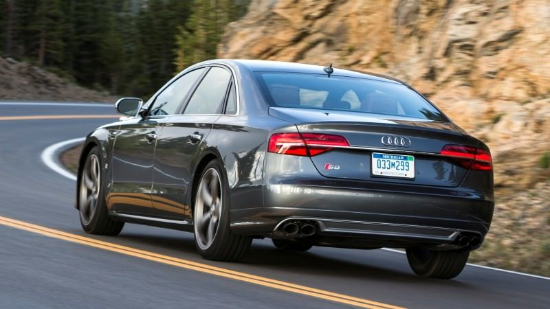 2015 Audi S8 with 520HP and 3.9s to 60MPH Is Quickest and Definitely The Coolest A8  61