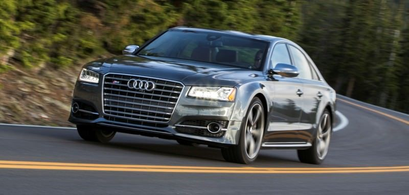 2015 Audi S8 with 520HP and 3.9s to 60MPH Is Quickest and Definitely The Coolest A8  64