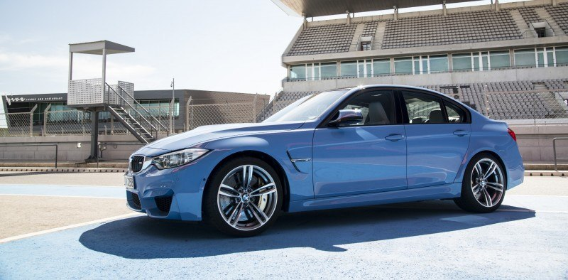 2015 BMW M3 and M4 Meet The Legacy in 52 New Photos With E30 Sport Evolution, E36 M3 Sedan, E46 and E90 39