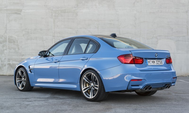 2015 BMW M3 and M4 Meet The Legacy in 52 New Photos With E30 Sport Evolution, E36 M3 Sedan, E46 and E90 43