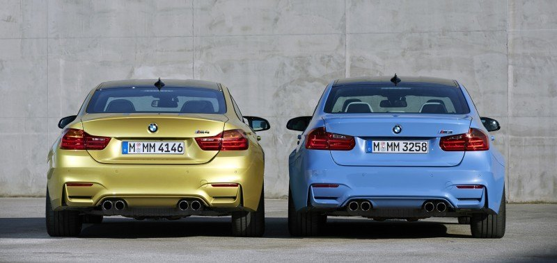 2015 BMW M3 and M4 Meet The Legacy in 52 New Photos With E30 Sport Evolution, E36 M3 Sedan, E46 and E90 6