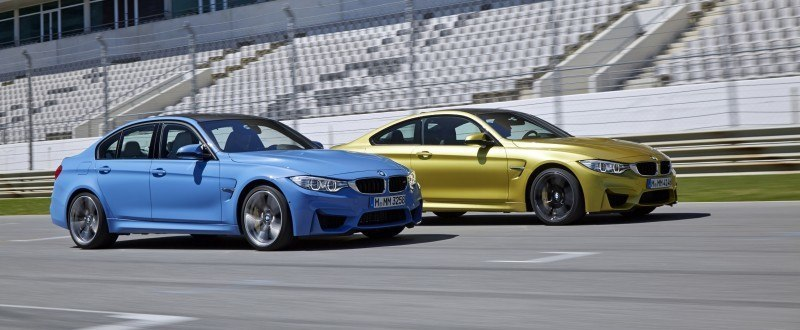 2015 BMW M3 and M4 Meet The Legacy in 52 New Photos With E30 Sport Evolution, E36 M3 Sedan, E46 and E90 9