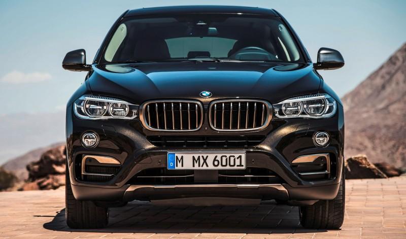 2015 BMW X6 Debuts Tech-tastic 445HP xDrive50i and New Rear-Drive sDrive35i 16