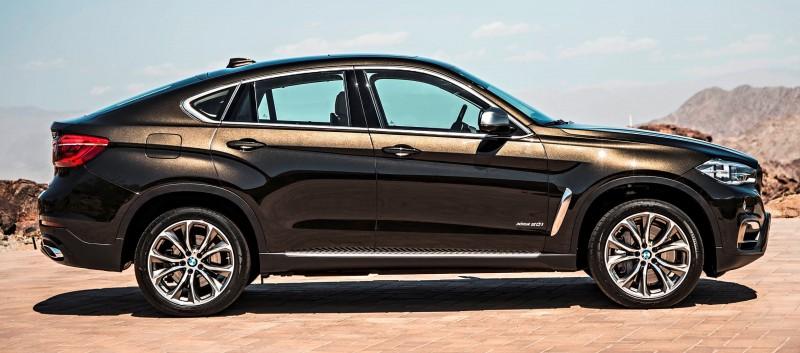 2015 BMW X6 Debuts Tech-tastic 445HP xDrive50i and New Rear-Drive sDrive35i 18