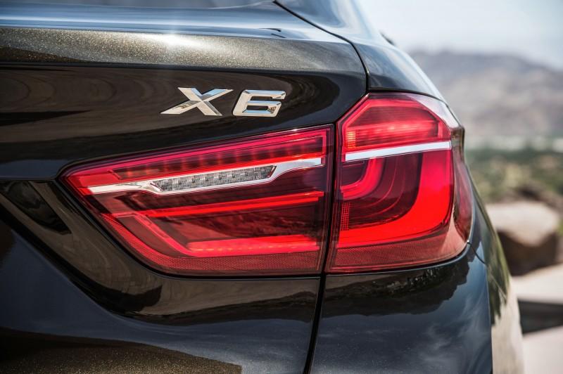 2015 BMW X6 Debuts Tech-tastic 445HP xDrive50i and New Rear-Drive sDrive35i 21