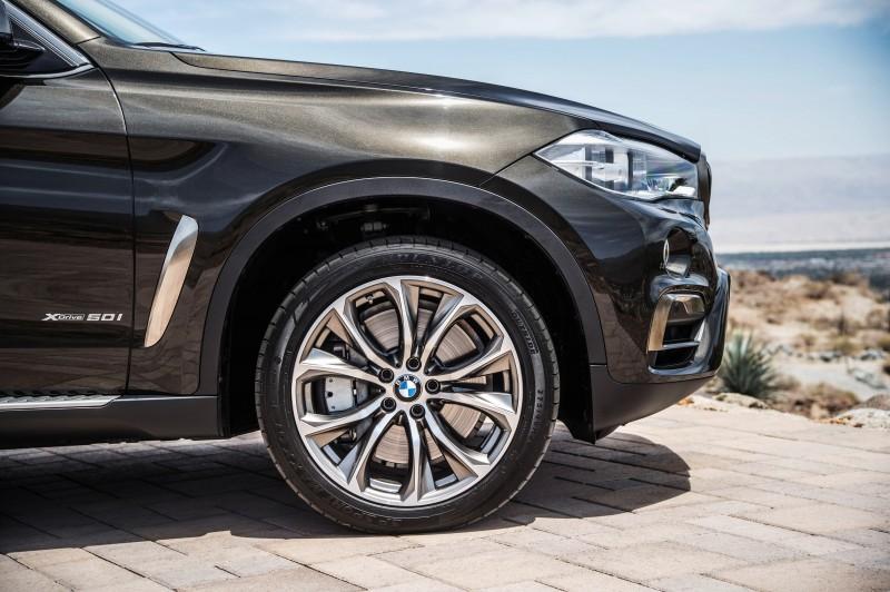 2015 BMW X6 Debuts Tech-tastic 445HP xDrive50i and New Rear-Drive sDrive35i 25
