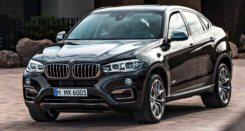 2015 BMW X6 Debuts Tech-tastic 445HP xDrive50i and New Rear-Drive sDrive35i 33