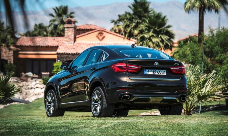 2015 BMW X6 Debuts Tech-tastic 445HP xDrive50i and New Rear-Drive sDrive35i 4