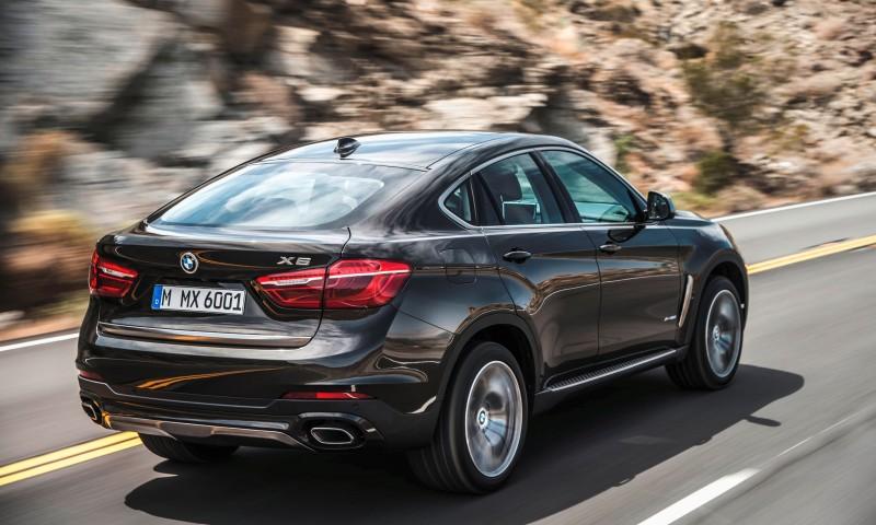 2015 BMW X6 Debuts Tech-tastic 445HP xDrive50i and New Rear-Drive sDrive35i 5