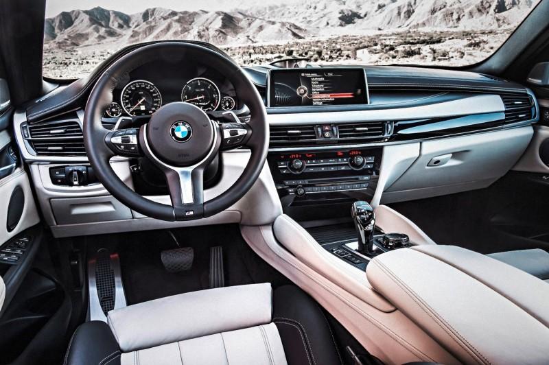 2015 BMW X6 xDrive50i INTERIOR 1