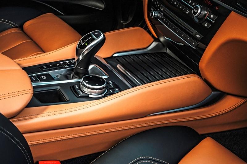 2015 BMW X6 xDrive50i INTERIOR 14