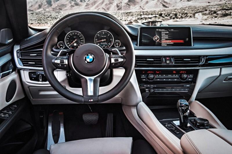 2015 BMW X6 xDrive50i INTERIOR 2