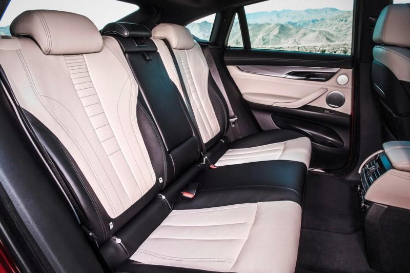 2015 BMW X6 xDrive50i INTERIOR 5
