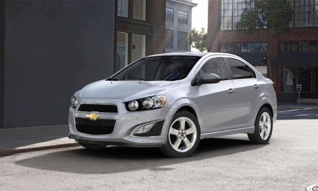 2015 Chevy Sonic RS Sedan COLORS And Buyers Guide Info