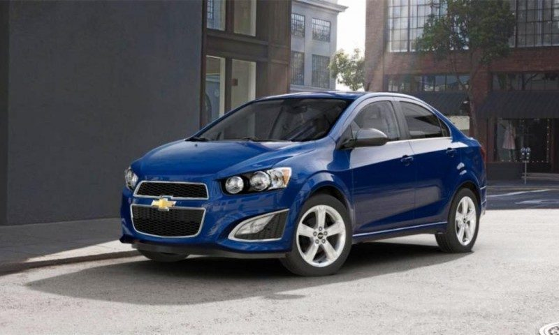 2015 Chevy Sonic RS Sedan COLORS and Buyers Guide Info 42