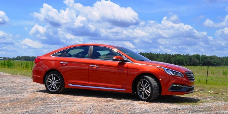 2015 Hyundai Sonata Sport 2.0T - 160 Photos From National Media Launch 127