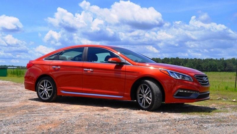 2015 Hyundai Sonata Sport 2.0T - 160 Photos From National Media Launch 128