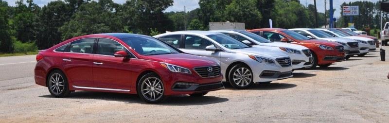 2015 Hyundai Sonata Sport 2.0T - 160 Photos From National Media Launch 43