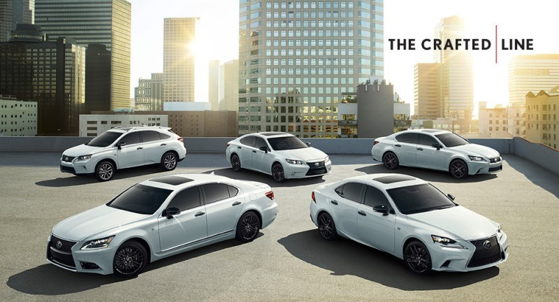 2015 Lexus Crafted Line Debuts at Pebble Beach with Five TUMI-Styled Production Models 25