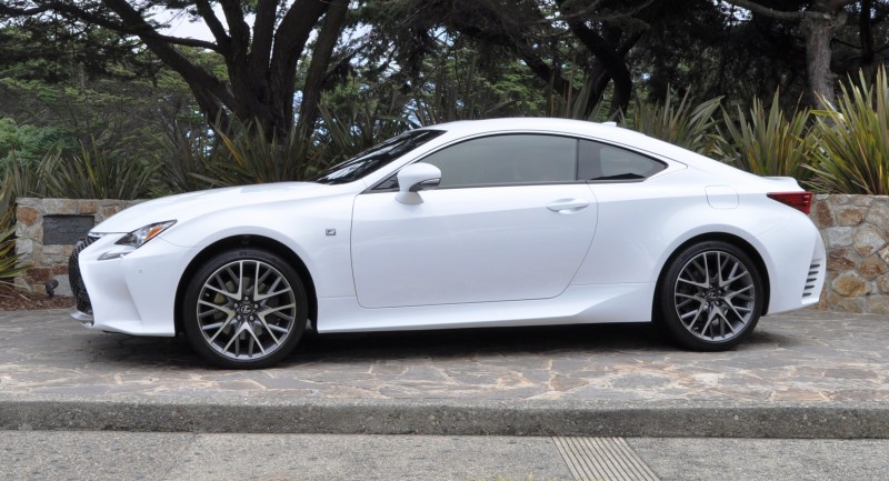 2015 Lexus RC350 F Sport EXCLUSIVE 8-Speed Auto, AWD, 4WS and Adaptive Suspension! 15