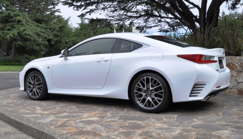 2015 Lexus RC350 F Sport EXCLUSIVE 8-Speed Auto, AWD, 4WS and Adaptive Suspension! 19