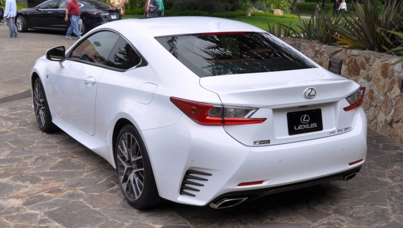2015 Lexus RC350 F Sport EXCLUSIVE 8-Speed Auto, AWD, 4WS and Adaptive Suspension! 22