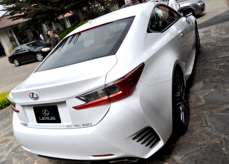 2015 Lexus RC350 F Sport EXCLUSIVE 8-Speed Auto, AWD, 4WS and Adaptive Suspension! 28