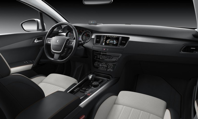 2015 Peugeot 508 Facelifted With New LED DRLs, Box-Design Beams and Tweaked Cabin Tech 18